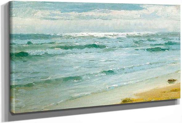 Sea At Skagen by Peder Severin Kroyer