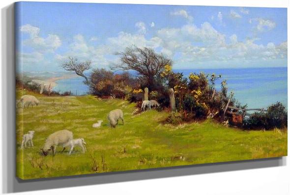 Springtime (Cornwall) by Arthur Hughes