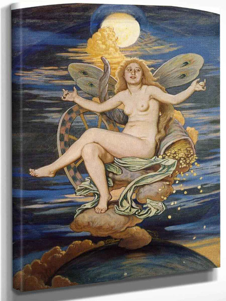 Fortuna By Elihu Vedder