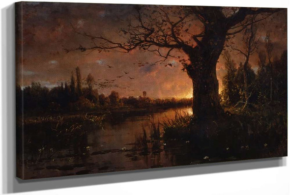 Sunset 4 by Julius Klever