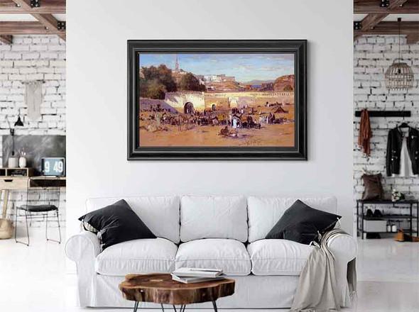 Tangiers Market by Samuel Colman