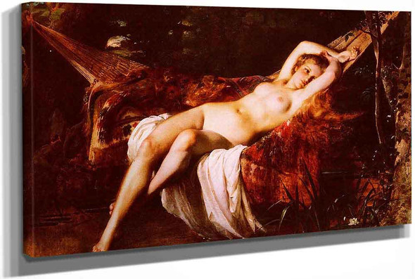 The Bather by Leon Jean Basile Perrault