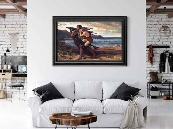 The Fisherman And The Mermaid by Elihu Vedder