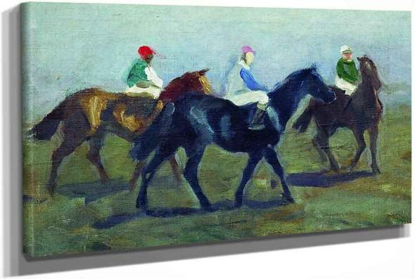 The Jockeys by Alexei Stepanov