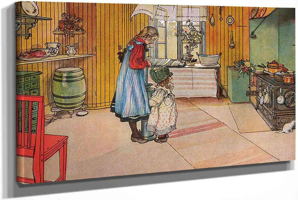 The Kitchen by Carl Larssonv