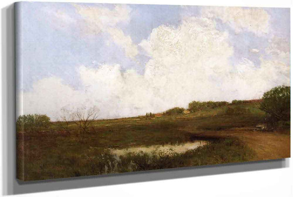 The Road Through The Meadow by Julian Onderdonk