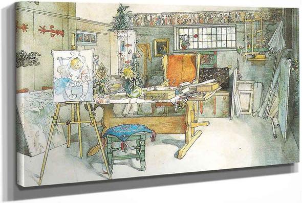 The Studio . by Carl Larssonv