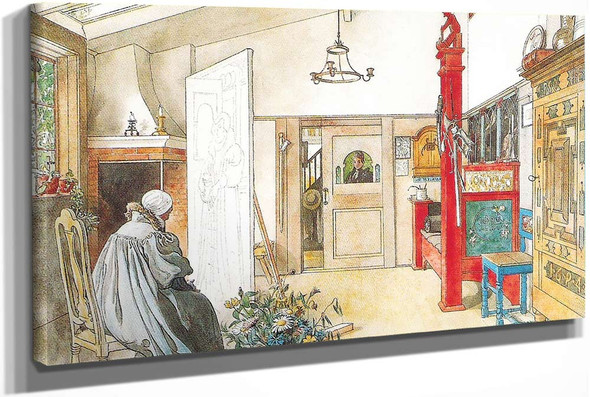 The Studio by Carl Larssonv
