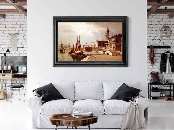 Venice At Midday by John Joseph Enneking
