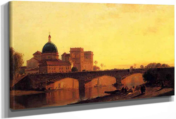 View Of Alexandria by Samuel Colman