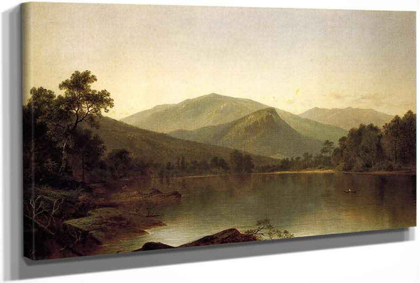 View On The Androscoggin River Maine by David Johnson