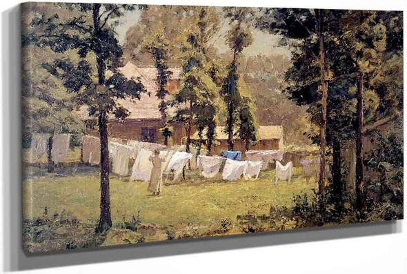 Weeks Washing by Theodore Clement Steele