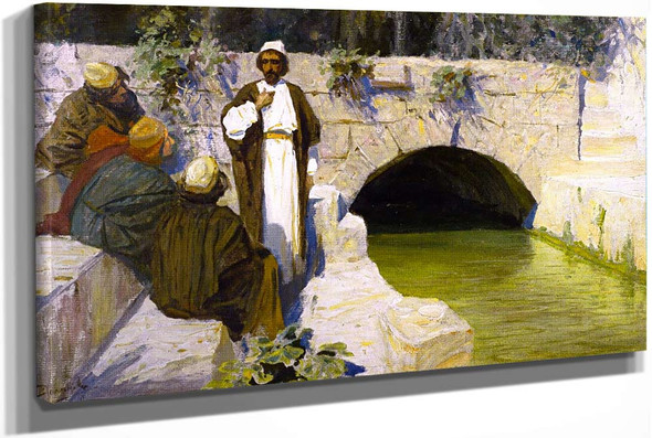 What People Think About Me by Vasily Polenov