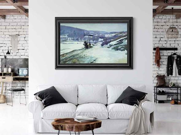 Winter Landscape 1 by Alexei Stepanov