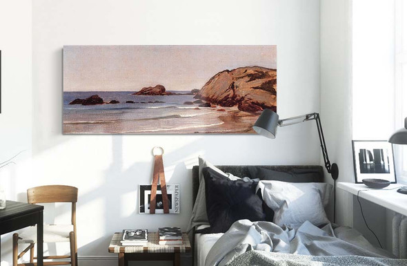 Newport Beach By Elihu Vedder