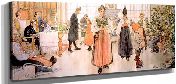 Now Is It Christmas Again By Carl Larssonv