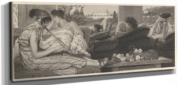 The Siësta By Sir Lawrence Alma Tadema