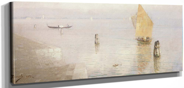 Venetian Lagoon By Vasily Polenov