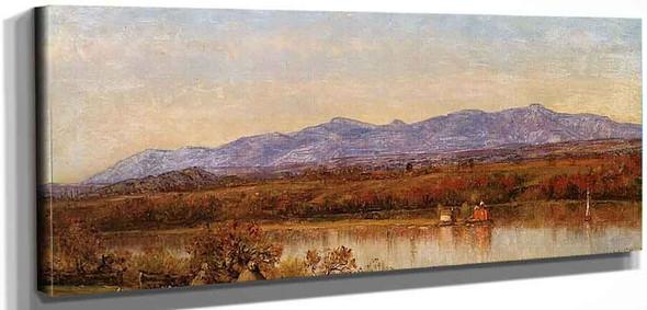 View Of The Catskills By Thomas Worthington Whittredge