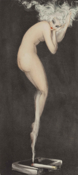 Illusion 1940 by Louis Icart