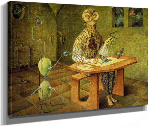 Creation Of The Birds by Remedio Varo