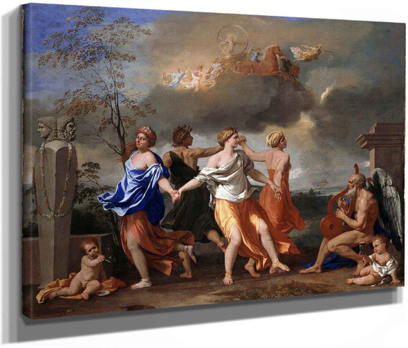 A Dance To The Music Of Time by Nicholas Poussin