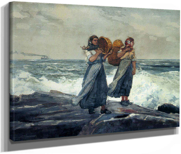 A Fresh Breeze (C1881) by Winslow Homer