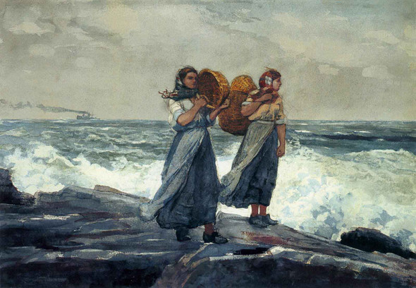 A Fresh Breeze (C1881) by Winslow Homer