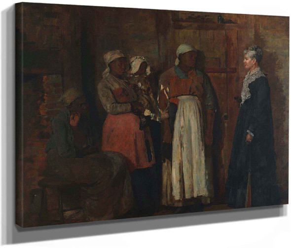A Visit From The Old Mistress by Winslow Homer
