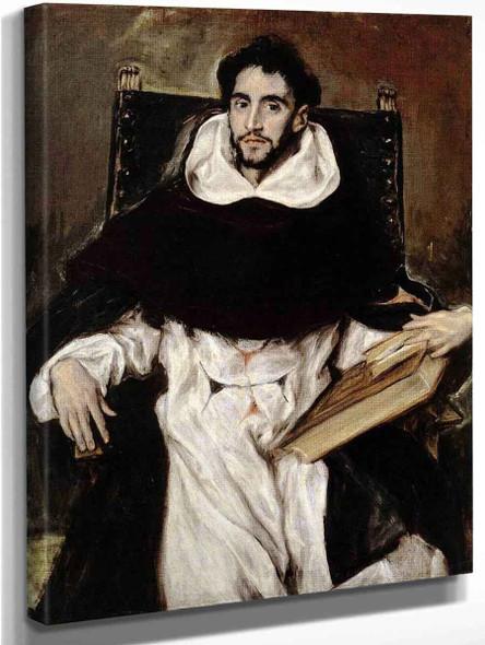 Fray Hortensio Felix Paravicino By El Greco By El Greco