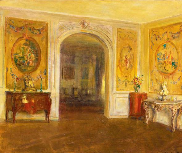 An 18th Century Salon by Walter Gay