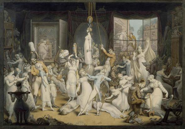 An Elegant Establishment For Young Ladies by Edward Francis Burney