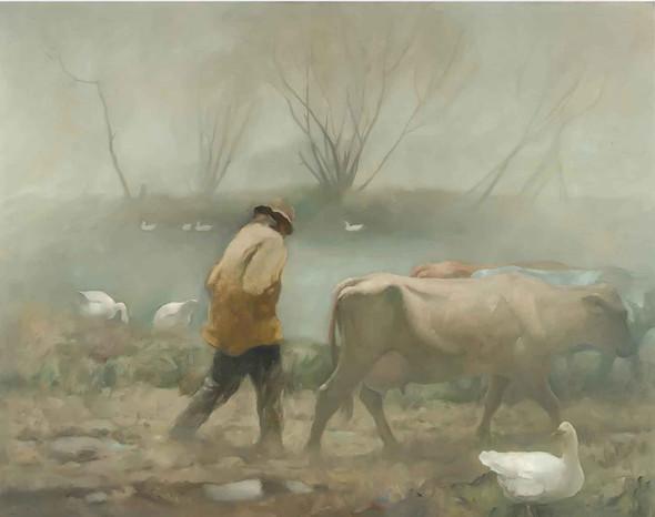 April Rain by Nc Wyeth