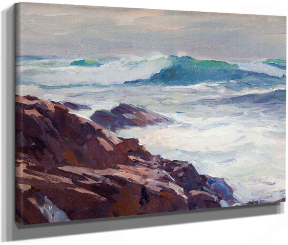 Bass Rocks by Emile Albert Gruppe