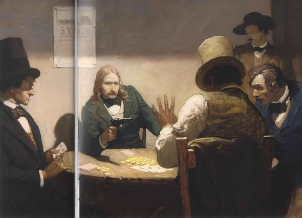 Bill Calling Hand Cards by Nc Wyeth