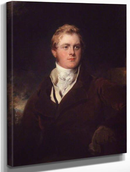 Frederick John Robinson, 1St Earl Of Ripon By Sir Thomas Lawrence
