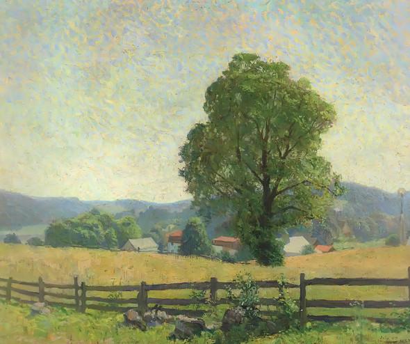 Chadds Ford Landscape by Nc Wyeth