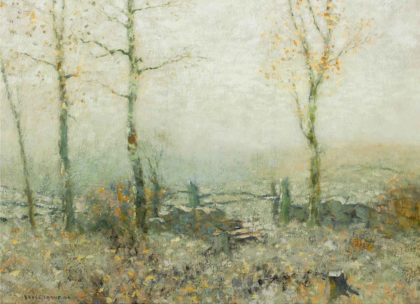 Edge Of The Woods Circa 1910 by Bruce Crane
