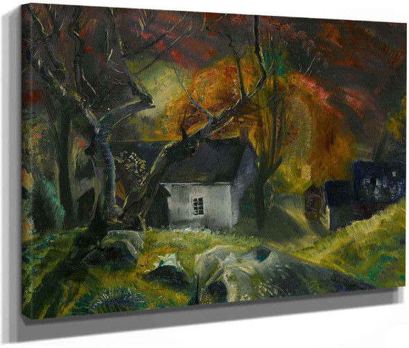 George Wesley Bellows Little House In The Woods by George Wesley Bellows