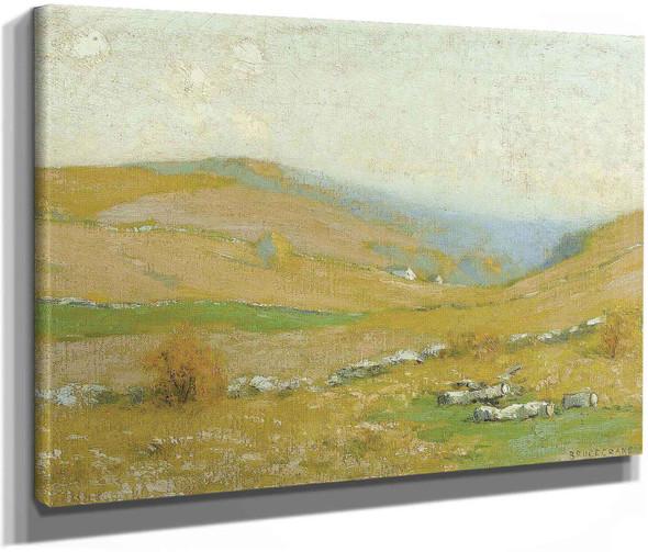 Golden Hills by Bruce Crane