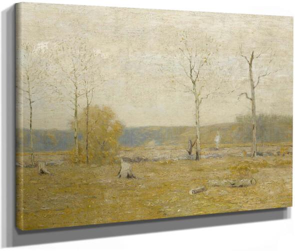 Grey Fields by Bruce Crane