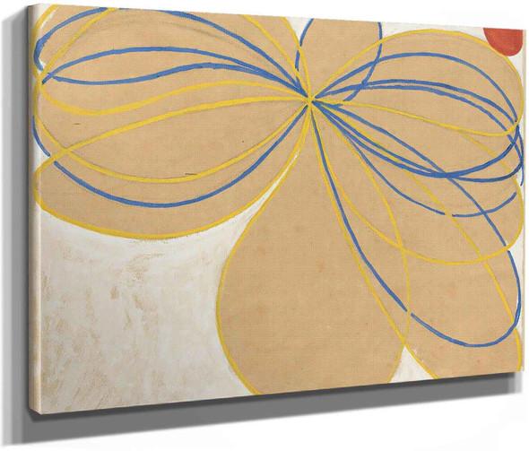 Group V The Seven Pointed Star by Hilma Af Klint