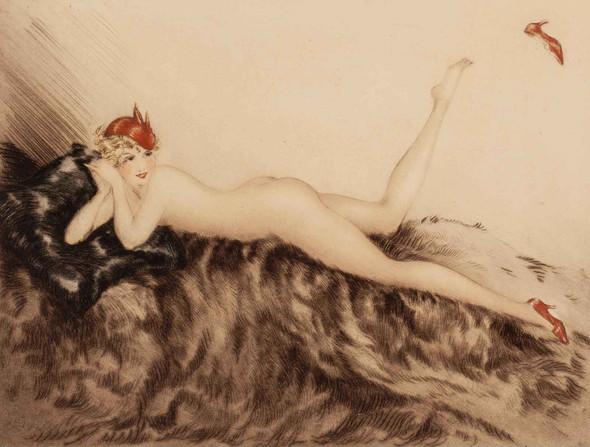 Hoopla 1935 by Louis Icart