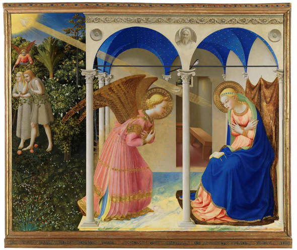 La Anunciación by Fra Angelico