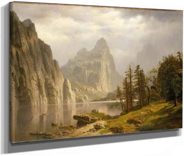 Merced River Yosemite Valley Albert Bierstadt by Albert Bierstadt