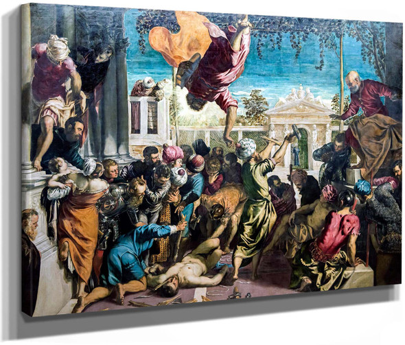 Miracle Of The Slave by Jacopo Tintoretto