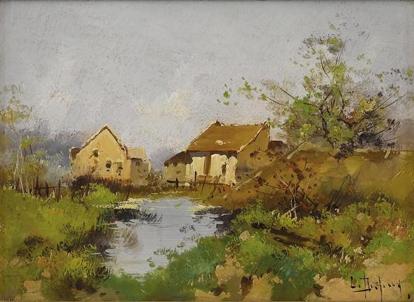 Paysagea by Eugene Galien Laloue