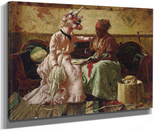 Reading The Cards by Harry Roseland