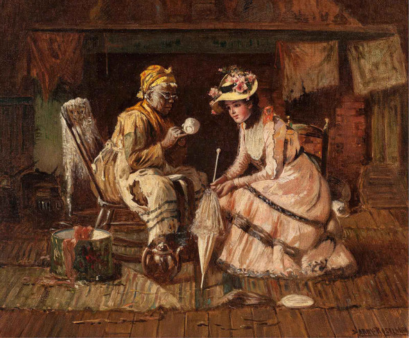 Reading The Tea Leaves by Harry Roseland