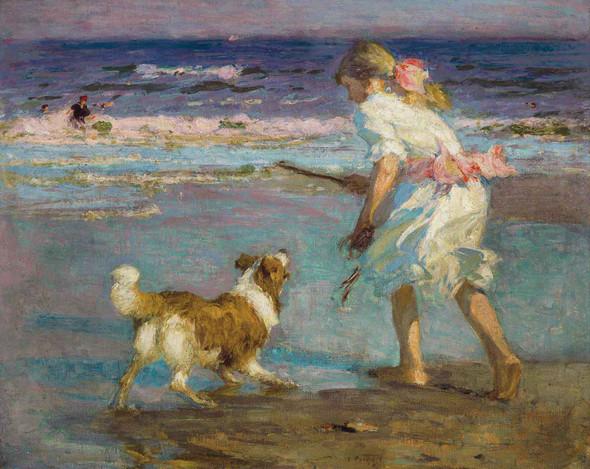Retrieving by Edward Henry Potthast